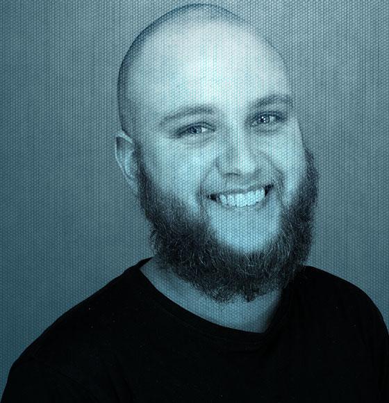 Pieter Stenger, freelance webdeveloper en eigenaar van Webshite